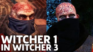 Witcher 1 Prologue Re-Created In The Witcher 3 Gameplay