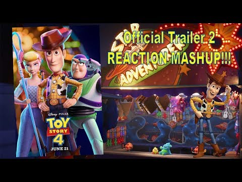 Toy Story 4 Official Trailer 2 Reaction Mashup Youtube