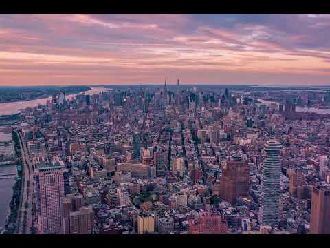 An evening in Manhattan