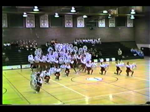 1984 California State Drill Team Competition Selected Performances--Preliminaries