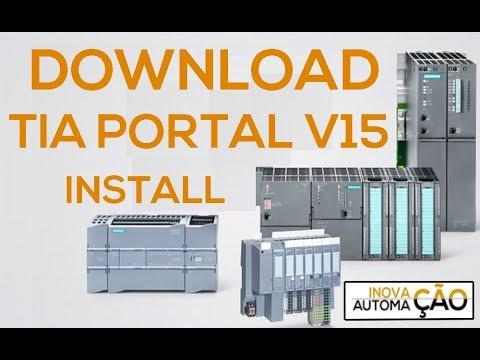 Download e Instalação Siemens TIA Portal V15 para PLC CLP