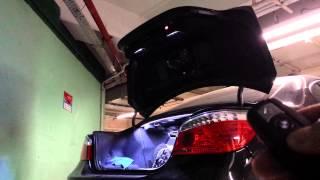 BMW E60 sedan Remote (open/close Trunk with key)
