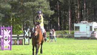 Area 16 Riding Club ODE Qualifier, My Harlequin Lady
