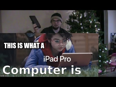 iPad Pro — What's a computer — Apple. THIS IS A COMPUTER