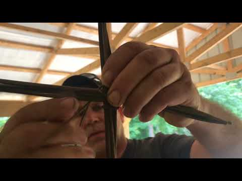 Exerpt on Basket Weaving at the Bushcraft 101 Class
