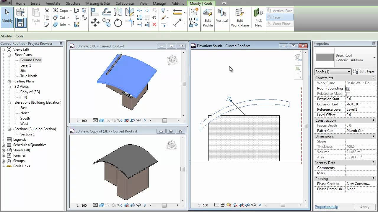How To Make A Curved Ceiling In Revit Nakedsnakepress Com