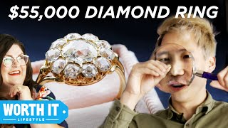 $1,065 Engagement Ring Vs. $55,000 Engagement Ring YouTube Videos