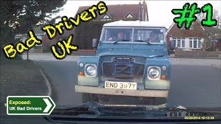UK Bad Drivers, Road Rage, Crash Compilation #1 [2015]