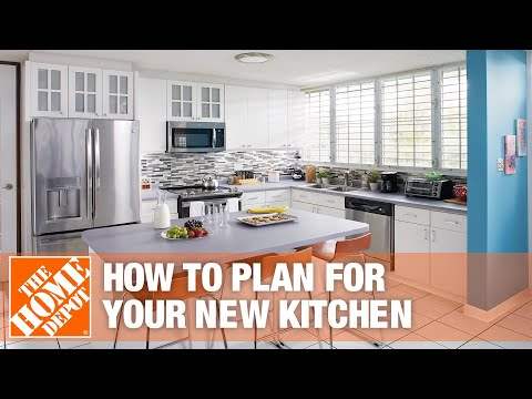 How To Plan For Your New Kitchen Part 1 Introduction The Home Depot Youtube