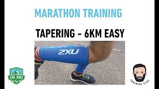 SECOND MARATHON - TAPERING - 6KM EASY RUN