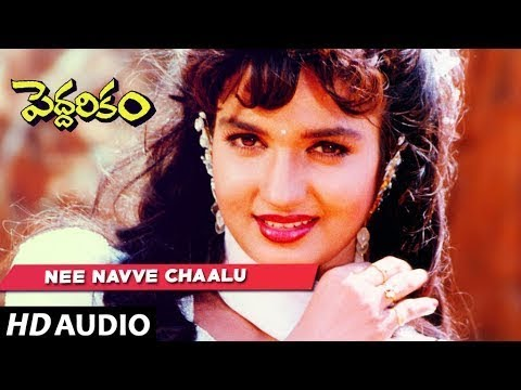 Nee Navve Chaalu Full Song || Peddarikam Songs || Jagapathi Babu, Sukanya || Telugu Old Songs