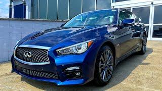 2016 Infiniti Q50S Red Sport Review