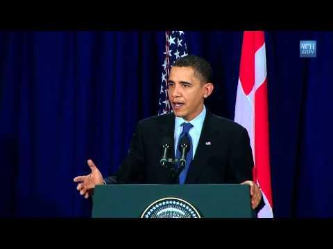 President Obama at Copenhagen Climate Change Conference