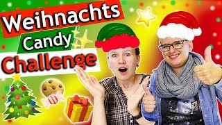 CANDY CHALLENGE WEIHNACHTEN | Lebkuchen & Spekulatius im September?! | Evas verrückte Überraschung!