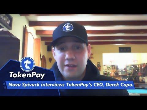 Nova Spivack interviews TokenPay's CEO, Derek Capo.
