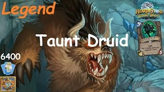 Hearthstone: Taunt Recruit Druid #2: Witchwood (Bosque das Bruxas) - Standard Constructed