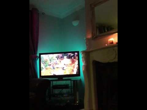 Philips hue lights in action