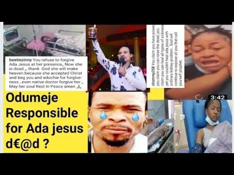 Odumeje Church Set On Fire By Angry Youth Over Ada Jesus Death  | Ada Jesus Is Dead #adajesusisdead