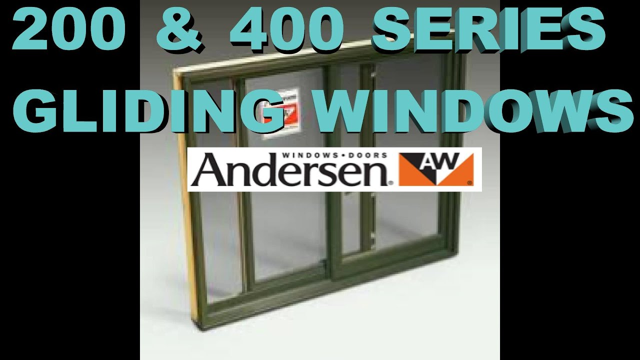 400 200 Anderson Window Sash Replacement Youtube