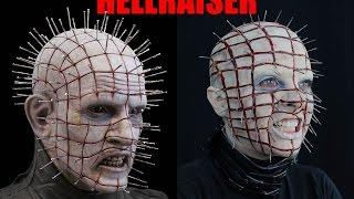 MAQUIAGEM DO PIN HEAD DO FILME HELLRAISER - MAQUIAGEM ARTÍSTICA