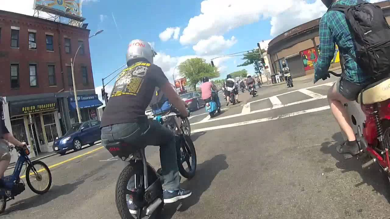 fastest cafe racer mopeds in boston - youtube