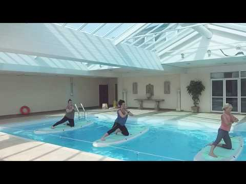 SUP Yoga Indoor 27 September 2017 ~ transitioning from summer to autumn