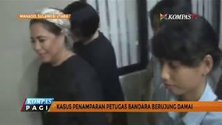 Kasus Penamparan di Bandara Sam Ratulangi Berakhir Damai