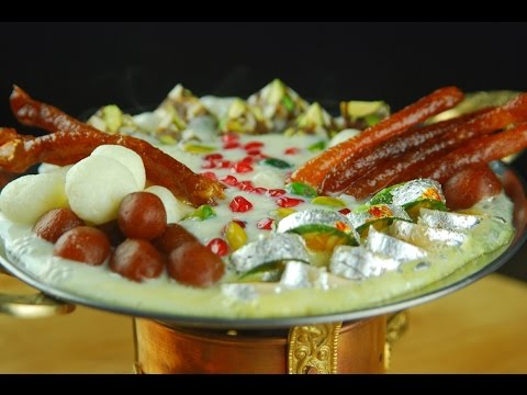 Deluxe Tawa Mithai Chaat - Festive Recipe By Chef Sanjeev Kapoor