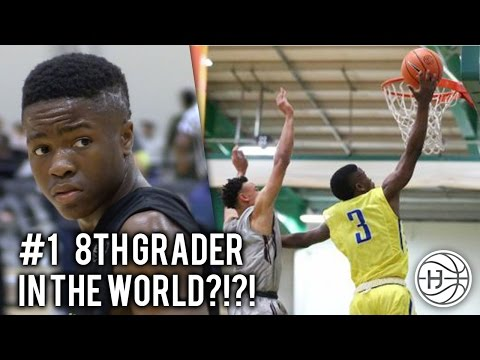 #1 8th Grader in the World?!? Zion Harmon is the Youngest Player in the EYBL!