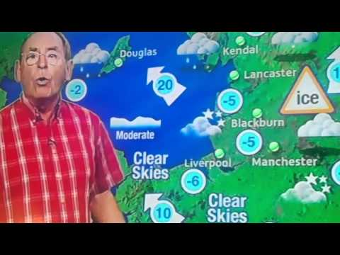 ITV 1 WEATHER FRED TALBOT