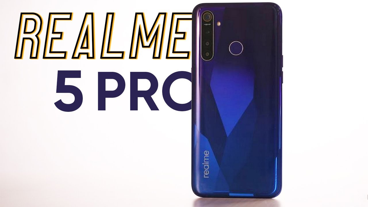Realme 5 Pro đối thủ năng ký của Xiaomi Redmi Note 8