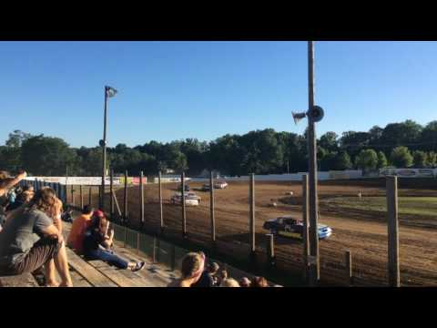 7-16-16 Bomber Heat Race 4 at Lincoln Park Speedway