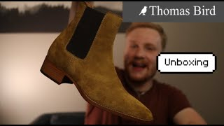 """Thomas Bird """"Manhattan"""" Chelsea Boot First Look and Unboxing"""