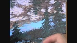 Видео 5 части 20, как рисовать горы и озеро с акрилом(Как рисовать горы и озеро с акрилом на холсте. В этом видео я объяснить каждый шаг живопись процесс скалы,..., 2011-08-31T03:57:28.000Z)