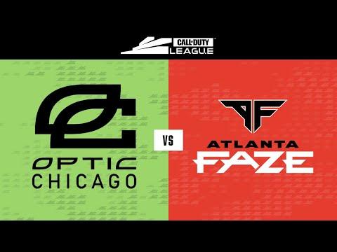 OpTic Chicago vs Atlanta FaZe | Stage III Week 3 — Dallas Home Series | Day 4