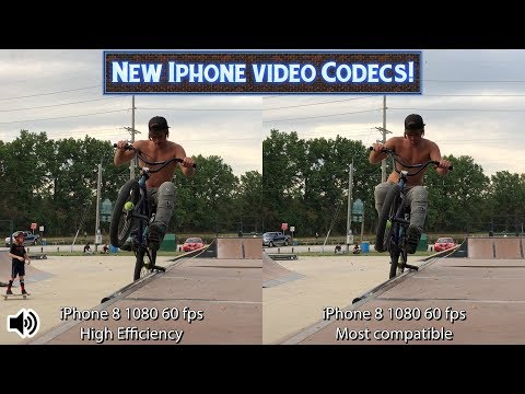 New iPhone HEVC Video Codec - Half The Space, Same Quality?