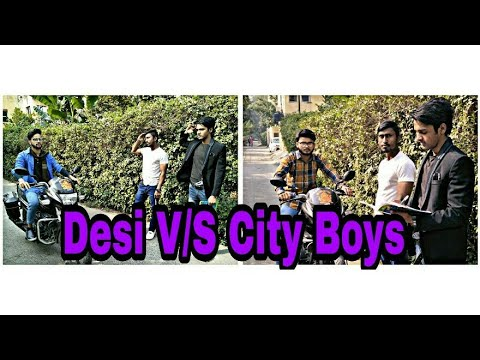 Desi V/S City Boys ||Video By Creative Boys