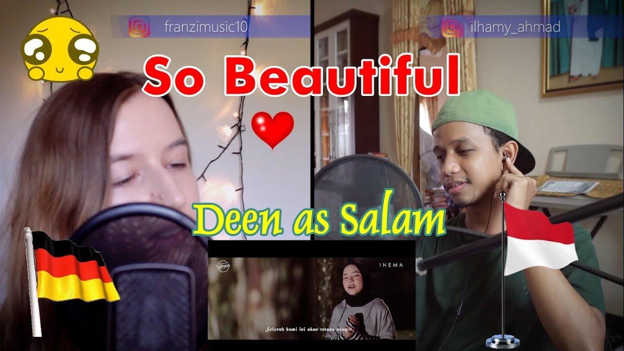 WOWWW!!! Deen As Salam - Sabyan | Andovi da Lopez REACTION (Part 1)