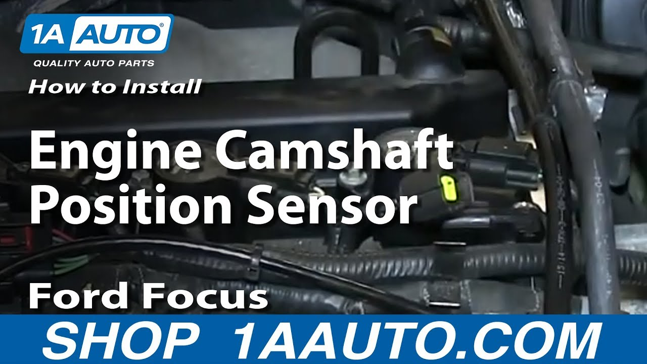 hight resolution of how to install replace camshaft position sensor 00 07 ford focus 2 0l