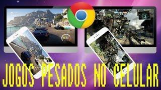 Como jogar GTA 5 ou outros jogos no Google Chrome (streaming)