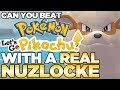 Can You Beat Pokemon Let's Go Pikachu with a Real Nuzlocke? [Full Game]