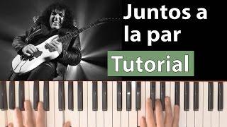 """Como tocar """"Juntos a la par""""(Pappo) - Piano tutorial y partitura"""
