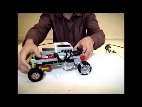 Lego EV3 -Universal, High Performance, Autonomous Car Platform- DEMONSTRATION