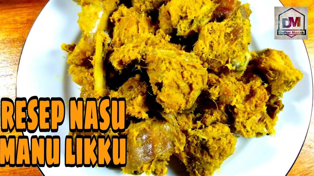 Resep Nasu Manu Likku Resep Ayam Lengkuas Khas Bugis Youtube Resep Ayam Ayam Resep