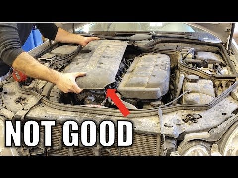 My Turbo Diesel Mercedes Has A Nasty Engine Issue. Don't Buy A Diesel Before Watching This video.