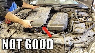 My Turbo Diesel Mercedes Has A Nasty Engine Issue. Don
