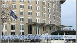 Заявление российских представителей при ОЗХО по инциденту в Солсбери