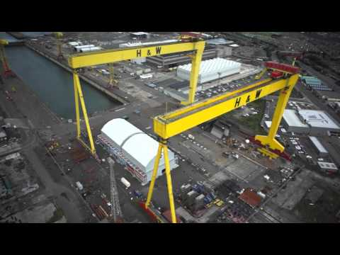 Belfast by Drone, AMAZING FOOTAGE