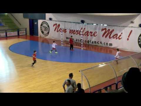 Calcio a 5, Pulcini: Cogianco Academy - Real Ciampino