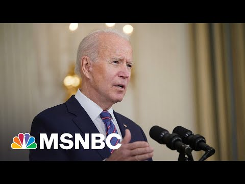 'We Still Have A Long Way To Go': Biden Speaks After 'Promising' Jobs Report Numbers   MSNBC